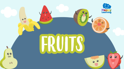 Word search: The Fruits - Games for kids | Happy Learning