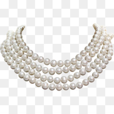 Pearl Necklace PNG - Black Pearl Necklace, Pearl Necklace With Bow ...