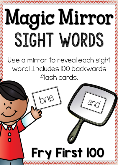 Sight Word Game - Magic Mirror Fry First 100 | Teaching sight ...