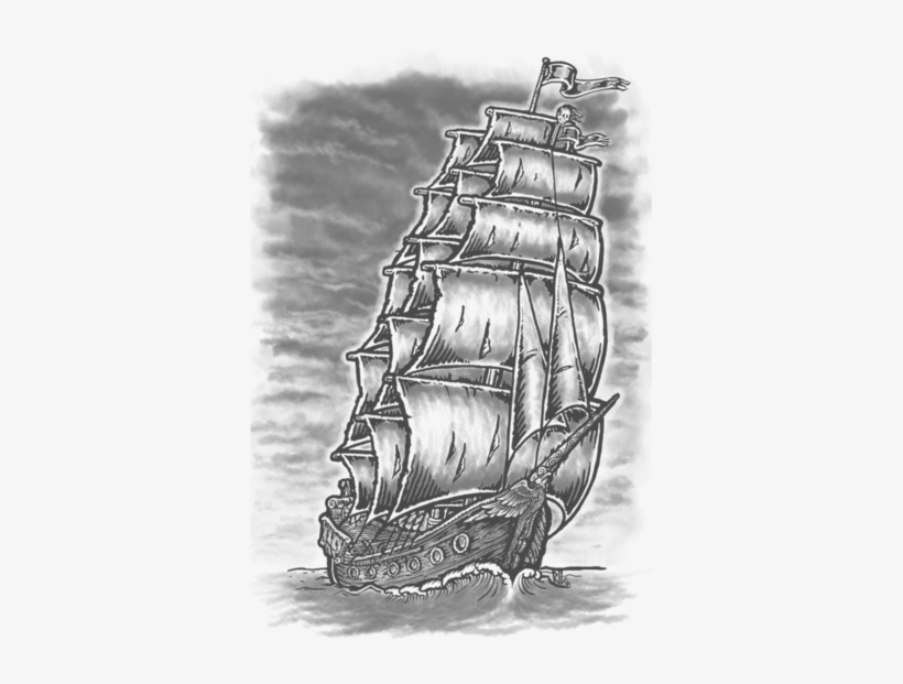 58 Ghost Pirate Ship Tattoos Ideas - Erie Ghost Ship Pirate ...