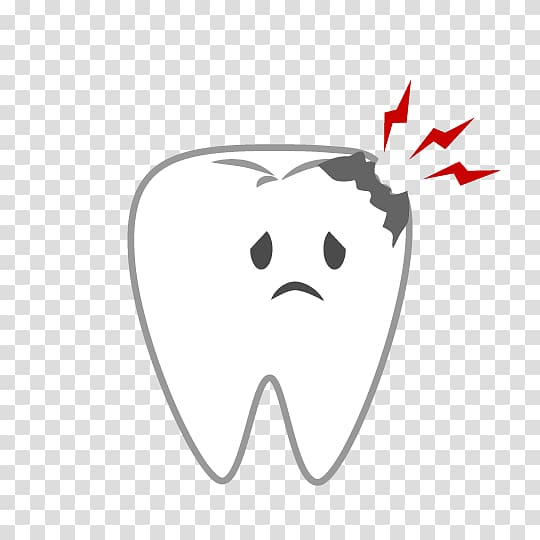 Dentist Tooth decay , dental caries transparent background PNG ...