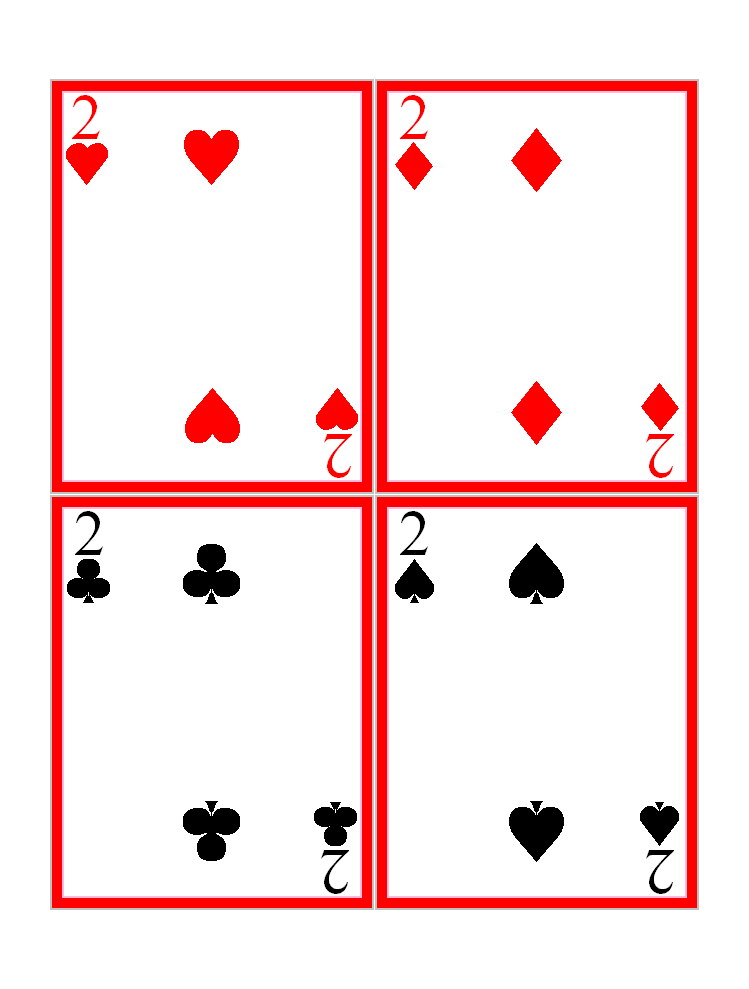 Free Playing Cards Symbols, Download Free Clip Art, Free Clip Art ...