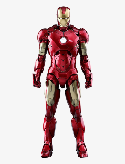 Marvel Iron Man 2 Iron Man Mark 4 Sixth Scale Figure - Iron Man ...