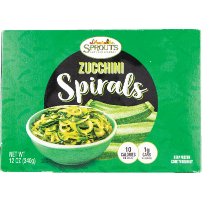 Sprouts Zucchini Spiral Noodles (12 oz container) from Sprouts ...