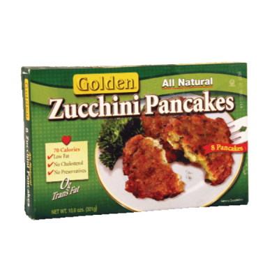 Golden. Zucchini Pancakes (8 ct) from Sprouts Farmers Market ...
