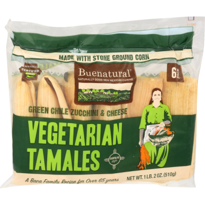 Buenatural Green Chile Zucchini Tamales (18 oz) from Sprouts ...