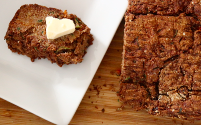 Zucchini Breakfast Bread - Holistic Little Sprouts
