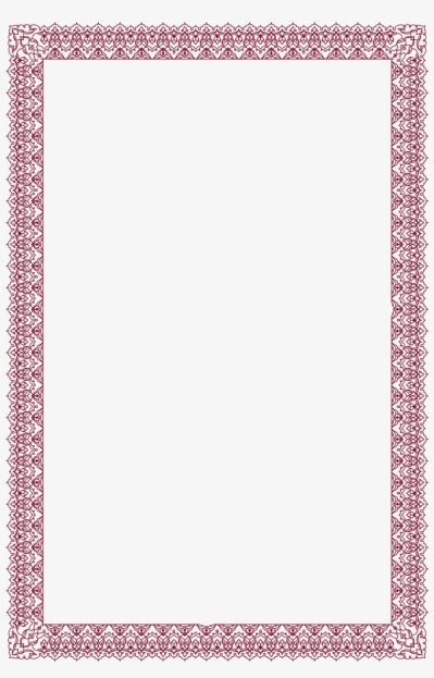 Border - Arabic Calligraphy Transparent PNG - 940x1404 - Free ...