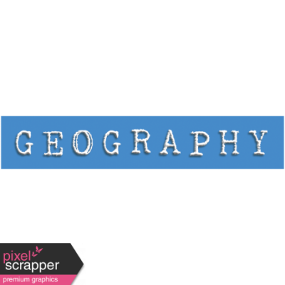 Geography Word Snippet graphic by Janet Scott | Pixel Scrapper ...