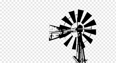 Windmill Windpump Watermill, windmill design PNG | PNGWave