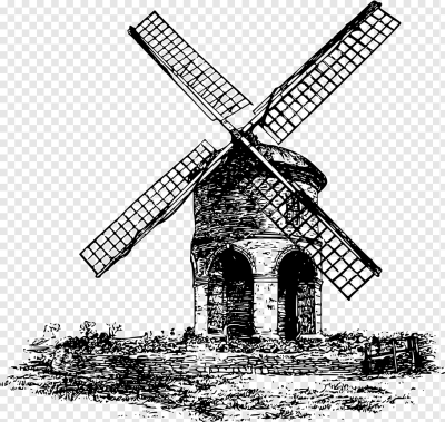 Golden Gate Park windmills Watermill, windmill PNG | PNGWave