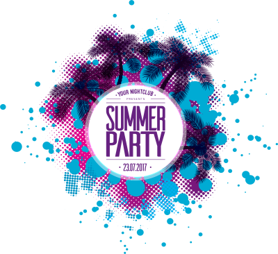 Free PNG Summer Party Poster - Konfest