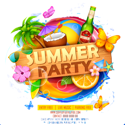 Summer party png 1 » PNG Image