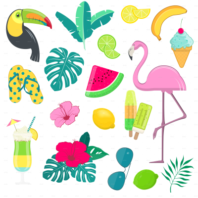 Summer Party Transparent & PNG Clipart Free Download - YWD