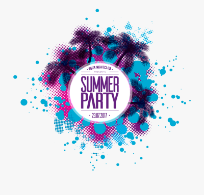 Free Png Summer Party Poster - Summer Pa #1265190 - PNG Images - PNGio