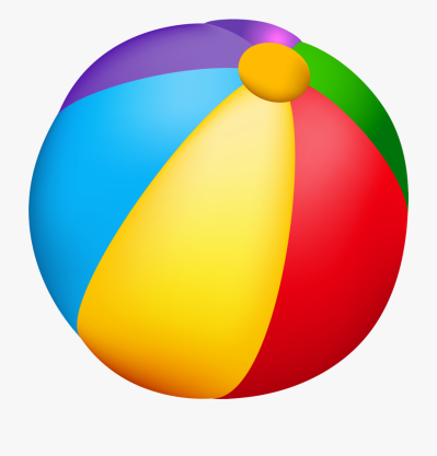 Beach Ball Png Vector Clipart Summer Clip Pinterest - Transparent ...
