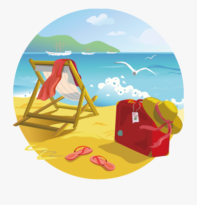 Clipart Beach Tropical Beach - Summer Beach Clipart Png ...