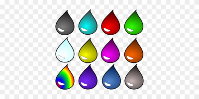 Blood Drop Liquid Liquids Oil Potion Water - Colored Water Drop ...
