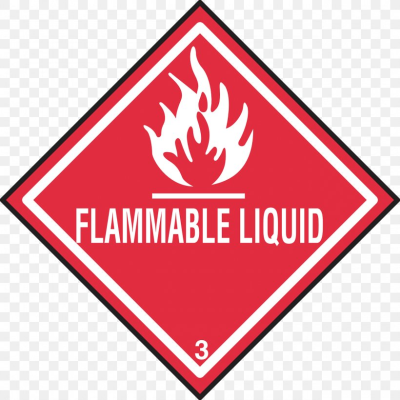 Dangerous Goods Transport GHS Hazard Pictograms HAZMAT Class 3 ...