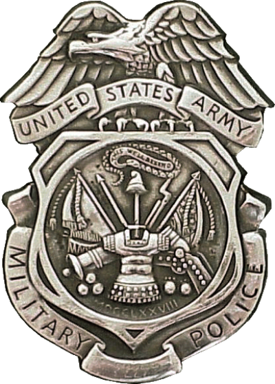 USA - Army MP Badge.png | Military police, Military police army ...