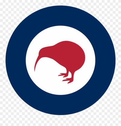 Kiwi Clipart Bird Nz - New Zealand Air Force Roundel - Png ...