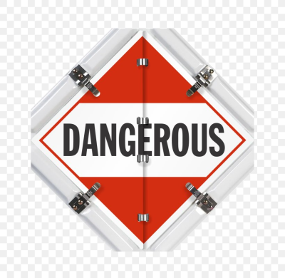 Dangerous Goods Placard Material Transport Combustibility And ...