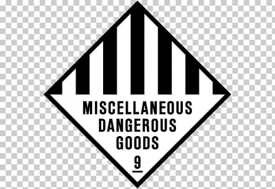 Dangerous goods Hazchem Safety Sign Hazardous waste, promotional ...