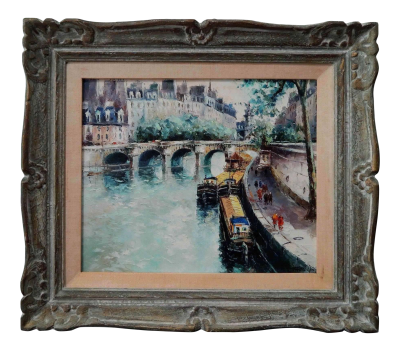 Stephane Wrobel Paris Canal | Chairish