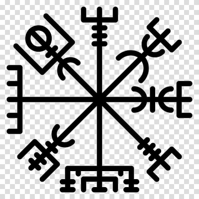 Icelandic magical staves Vikings Runes Tattoo, Helm Of Awe ...