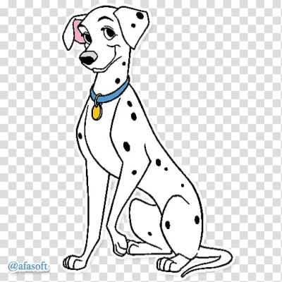 Dalmatian Dog Perdita The Hundred And On #1217627 - PNG Images - PNGio
