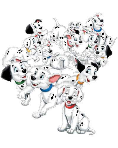 101 Dalmatians Png Download One Hundred #1217620 - PNG Images - PNGio