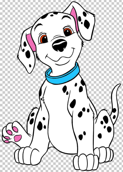Dalmatian Dog The Hundred And One Dalmatians Puppy Coloring Book ...
