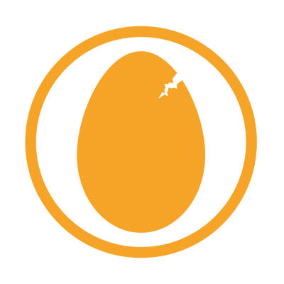 Eggs allergy amber Icon | Allergy Iconset | Erudus