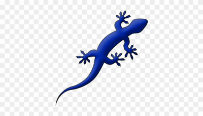 Gecko Websites - Blue Gecko Logo - Free Transparent PNG Clipart ...