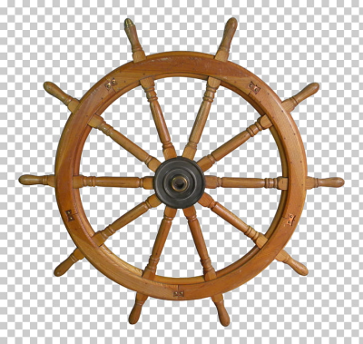 Ship's wheel Wood Helmsman, steering wheel, brown ship helm PNG ...
