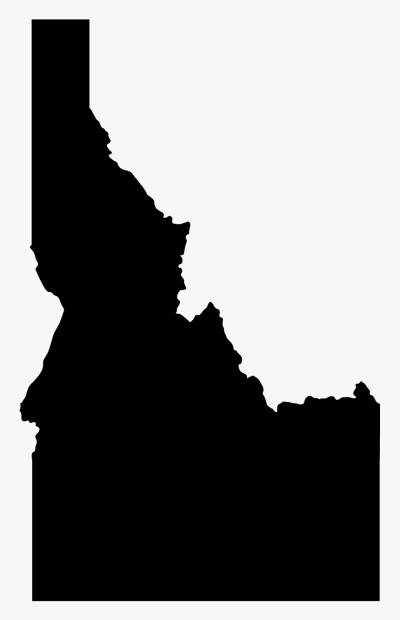 State Of Idaho Silhouette, HD Png Download , Transparent Png Image ...