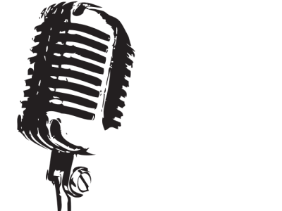 Mic Transparent Background
