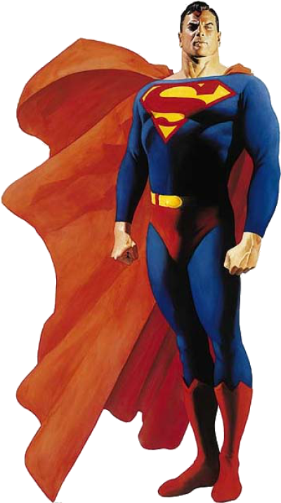 Download Superman Pre-crisis Dc Comics - Alex Ross Superman PNG ...