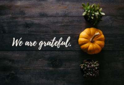 A Time for Gratitude | Amber Pharmacy Wishes You a Happy Thanksgiving