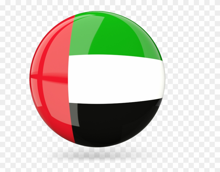 United Arab Emirates - Uae Flag Round Png, Transparent Png ...