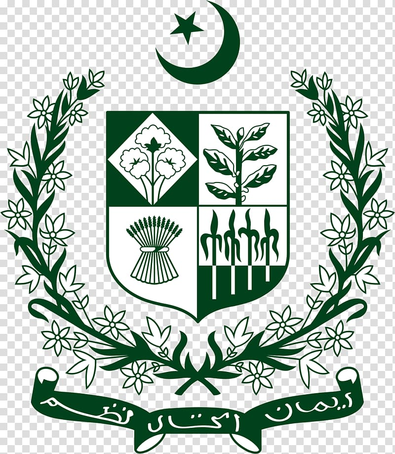 State emblem of Pakistan National symbol Star and crescent Symbols ...
