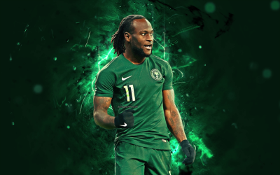 Download wallpapers Victor Moses, abstract art, Nigeria National ...