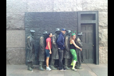 FDR MEMORIAL—our favorite place to take pics : Washington DC ...