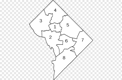 Map Council of the District of Columbia Neighbourhood DC ...