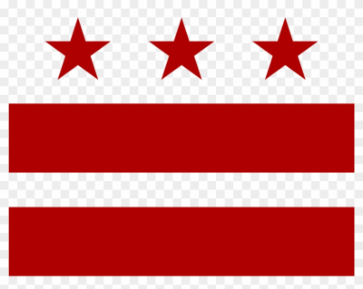 Open - Washington Dc State Flag - Free Transparent PNG Clipart ...