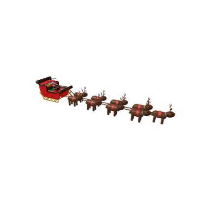 Santa's Sleigh (DC Version 2015) - Roblox