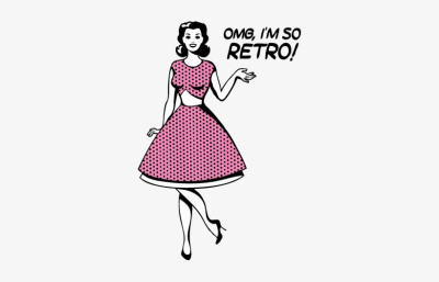 No Longer Modern And Not Quite Vintage, The Retro Trend - Women Of ...