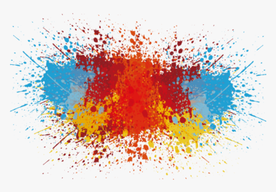 Salpicadura De Pintura Png , Png Download - Abstract Color Splash ...