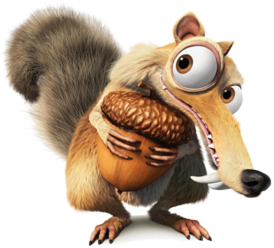 squirrel-background-Ice-Age-transparent