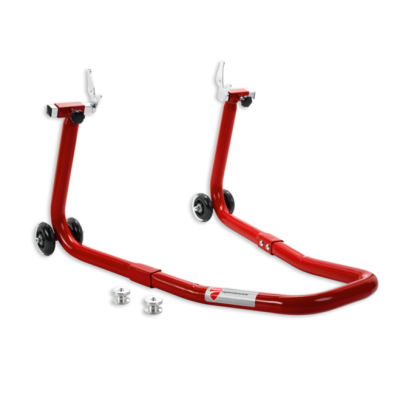 Ducati Rear paddock stand dual swing arm panigale 899 959 red new